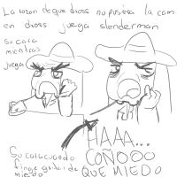 dross juega slenderconio by xSkullstomperx