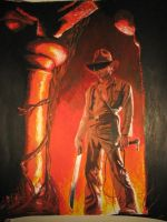 Indiana Jones by thaddeous