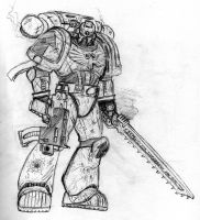 Just Another Space Marine by Sheason
