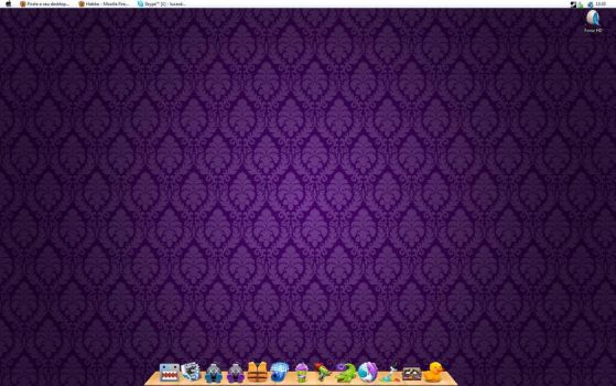 My Desktop Purple by DcFonix