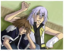 Kingdom Hearts: Peaceful Time by kitten-chan