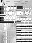 DnD Character Sheet - Page 1 by JackSpade2012