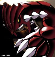 Ancient Groudon by Kaigetsudo