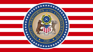 FALLOUT: Governmental Flag of the UTC (clean) by okiir