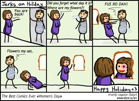 The Best Comics Ever: Women's Day by SatyrArs