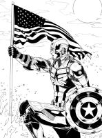 Capt'n 'Murica by RossoWinch