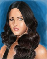 Megan Fox by adamnitin