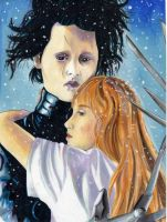 Edward Scissorhands by TheMechazawa