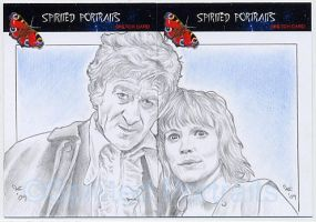 The Third Doctor and Jo Grant by Timedancer