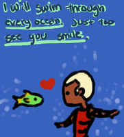 YJ Pick-Up-Lines: Ocean by Mhyin