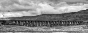 Ribblehead in mono by CharmingPhotography