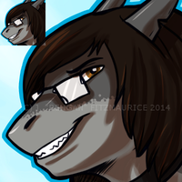 COMMISSION: Shark Icon by Rehgan