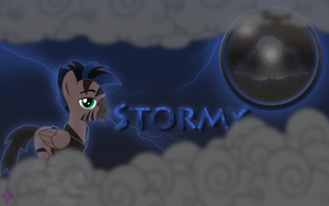 Stormy Wallpaper by Kage-Kaldaka