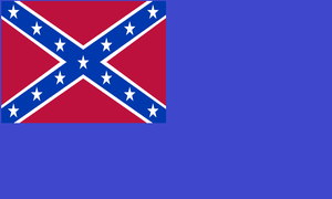 Confederate Remnant Ensign (Warship) by dragonvanguard
