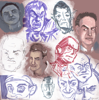 Faces Color Test by talentlessfiend