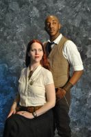 Steam Powered Couple 1 by Strangeknowledge