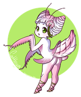 Cattleya Chibi by KittyCatKissu