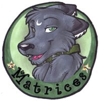 Test Badge :: Matrices by Nanuka