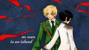 APH: No man is an island by Sirilu