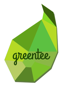 greentee logo by gietdesign