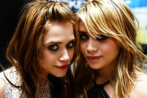 The Olsen Twins by donvito62