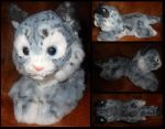 Snow leopard: custom airbrush job by Sharpe19