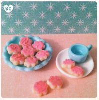 1:12 Miniature Sugar Cookies by kicat