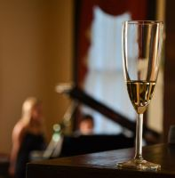 Champagne and Piano by Andashd