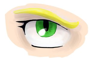 Digital Painting Eye by foxhat94