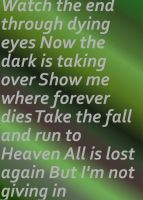 Breaking Benjamin - I Will Not Bow by BruceBannerFanGirl