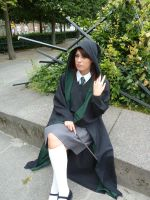 Pansy, a Slytherin by Rinaca-Cosplay