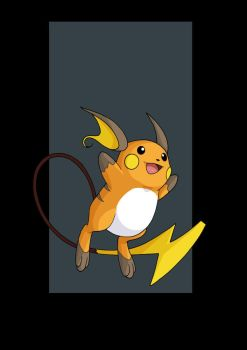 Raichu (female) by nightwing1975