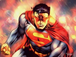 Superman Wallpaper by AgusholliD
