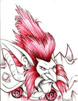 Red Troll by Dustmeat