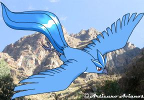 Flying Articuno by Articuno