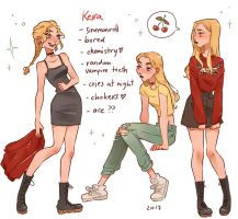 it's that Keira girl by my-purple-headphones