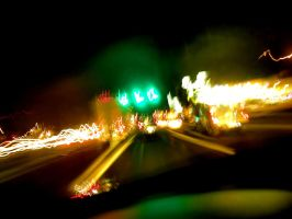 Light Capture 7: Traffic by Dustinpg