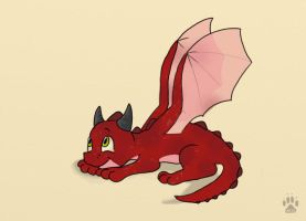 baby dragon by HappyDucklings