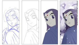 Process - The Ladies by SparkyX