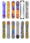 Snowboard Designs by crossbow