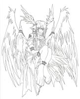 Wings of Light Inked by RizyuKaizen