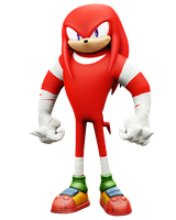 Knuckles Boom, Rise of Lyric Model by Nibroc-Rock