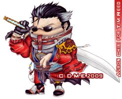Auron Chibi commission by tavington