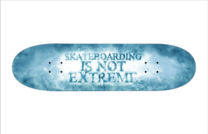 Skateboarding is not Extream by Saruteku