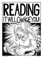 Reading Will Change You by dirktiede