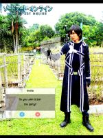 Cosplay Sword Art Online - Kirito by maysatria