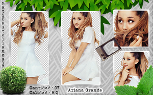 Photopack Png Ariana Grande by MatiCastellanos17