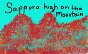 ABSTRACT MOUNTAINS OF JAPAN by Missbelle590