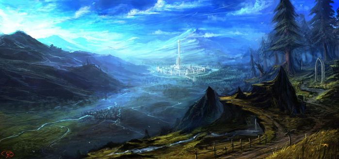 Oblivion, Imperial city by Runolite