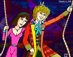 Time Travelling, '80s Style by Captain-Chaotica